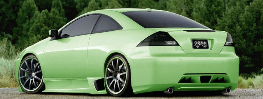 tyuning  | Honda Accord Coupe 3 | Honda Accord | Тюнинг корпуса Honda Accord