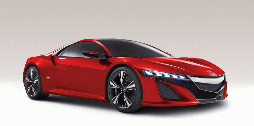 sport kary kupe acura  | acura nsx 1 | Acura NSX (Акура НСХ) Спорт кар | Acura NSX