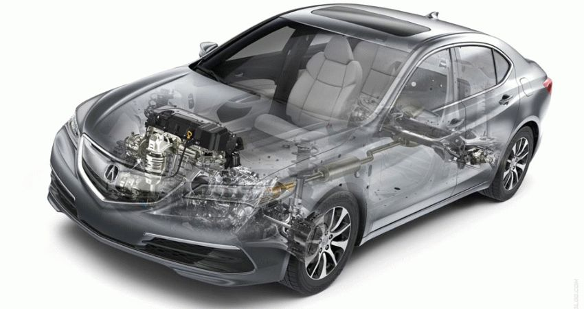 sedan acura  | acura tlx 3 | Acura TLX (Акура ТЛХ) Часть 2 | Acura TLX