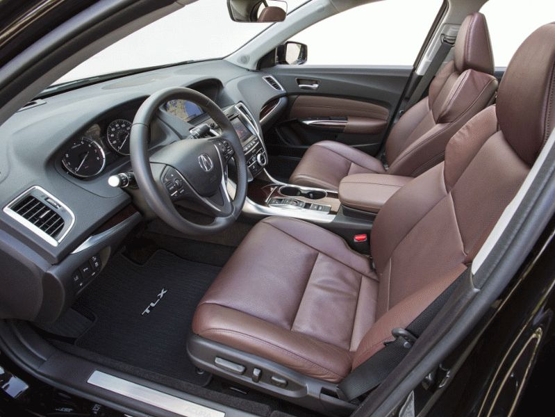 sedan acura  | cura tlx 5 | Acura TLX (Акура ТЛХ) Часть 2 | Acura TLX