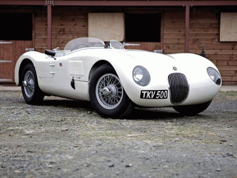 istoriya zarubezhnogo avtoproma  | jaguar c type 8 | История автомобилей Jaguar | Jaguar