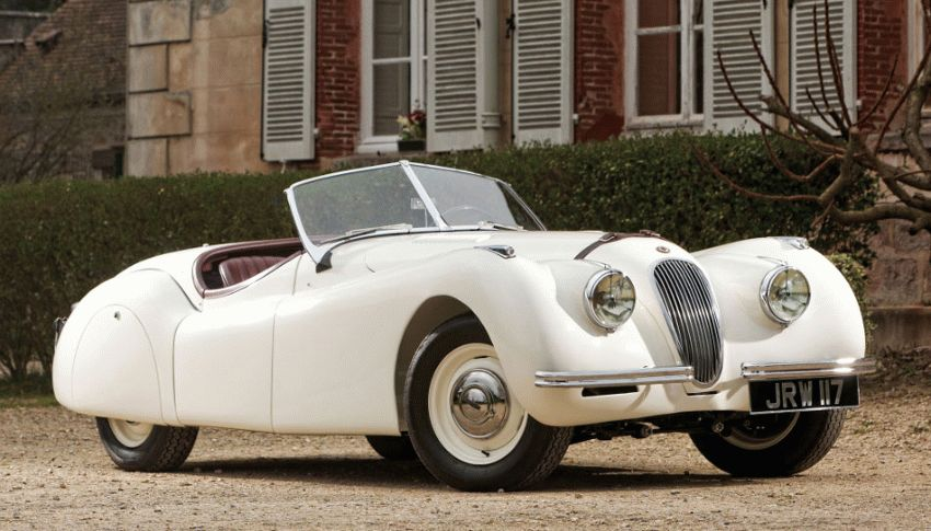 istoriya zarubezhnogo avtoproma  | jaguar xk120 2 | История автомобилей Jaguar | История Jaguar