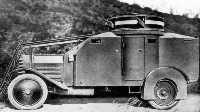 istoriya zarubezhnogo avtoproma  | lancia 1z 2 | История Lancia | История Lancia