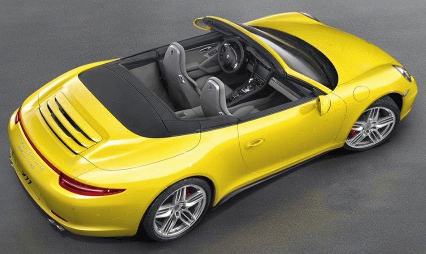 kabriolet katalog  | porsche 911 carrera 4s vii 991 kabriolet 1 | Porsche 911 Carrera 4S VII (991) Кабриолет | Porsche 911