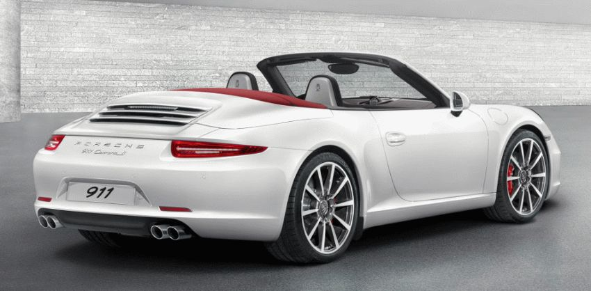 kabriolet katalog  | porsche 911 s vii 991 kabriolet 2 | Porsche 911 Carrera S VII (991) Кабриолет | Porsche 911