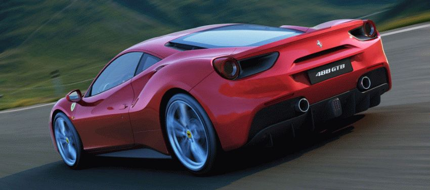 sport kary kupe ferrari  | ferrari 488 gtb pervaya poezdka 9 | Ferrari 488 GTB (Феррари 488) | Тест драйв Ferrari Ferrari 488