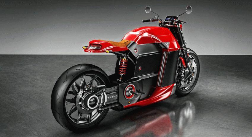 moto  | koncept ot kompanii tesla 2 | Tesla Model M (Тесла модель М) электромотоцикл | Tesla Model M
