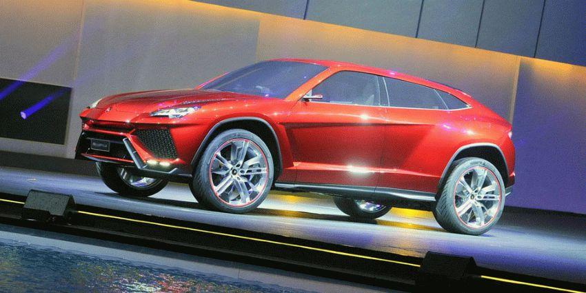 koncept avto  | krossover ot lamborghini 1 | Кроссовер от Ламборгини (Lamborghini) | Lamborghini