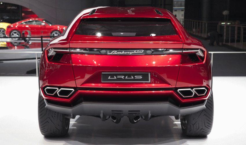 koncept avto  | krossover ot lamborghini 2 | Кроссовер от Ламборгини (Lamborghini) | Lamborghini