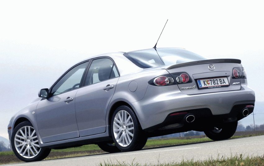 sedan katalog  | mazda 6 mps sedan 1 | Mazda 6 MPS Седан | Mazda 6