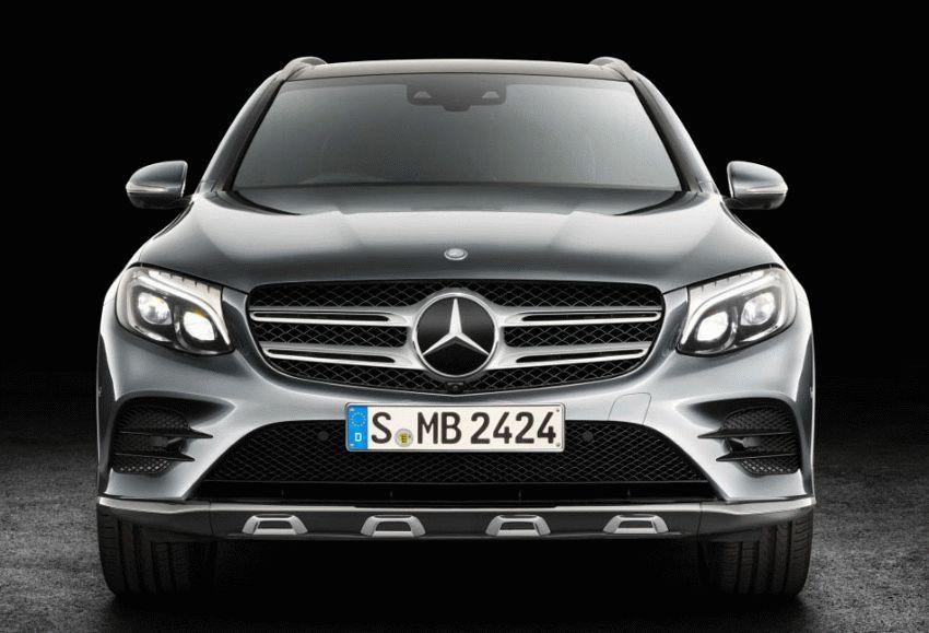 krossovery mercedes benz  | mercedes benz glc 2015 2016 1 | Mercedes Benz GLC (Мерседес ГЛС) | Mercedes Benz GLC