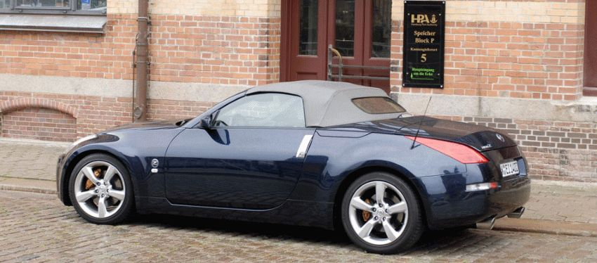 kabriolet katalog  | nissan 350z i kabriolet 1 | Nissan 350Z Кабриолет | Nissan 350Z