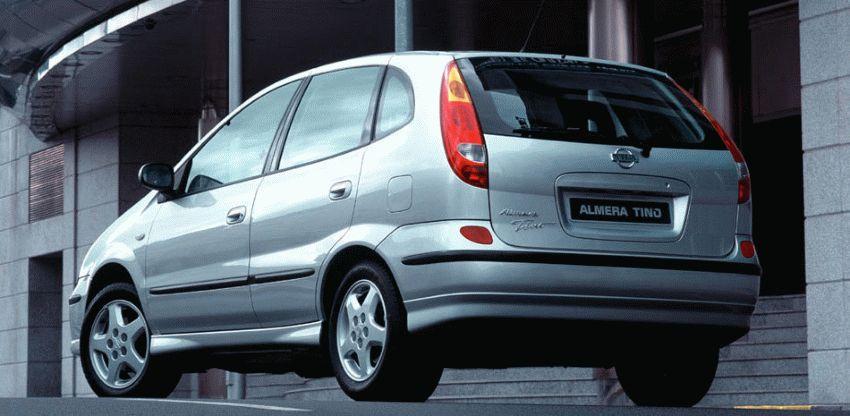 miniven katalog  | nissan almera tino kompaktvyen 2 | Nissan Almera Tino Компактвэн | Nissan Almera