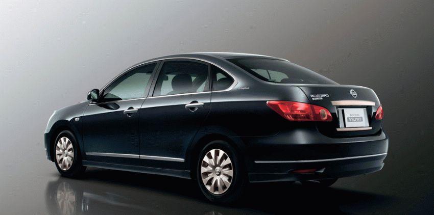sedan katalog  | nissan bluebird sylphy ii g11 sedan 1 | Nissan Bluebird Sylphy (G11) Седан | Nissan Bluebird Sylphy
