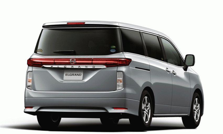miniven katalog  | nissan elgrand iii e52 minivyen 1 | Nissan Elgrand (E52) Минивэн | Nissan Elgrand