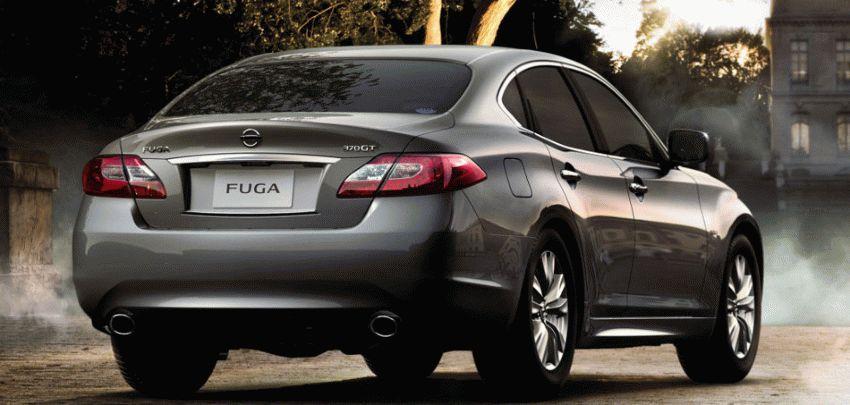 sedan katalog  | nissan fuga ii sedan 3 | Nissan Fuga II Седан | Nissan Fuga