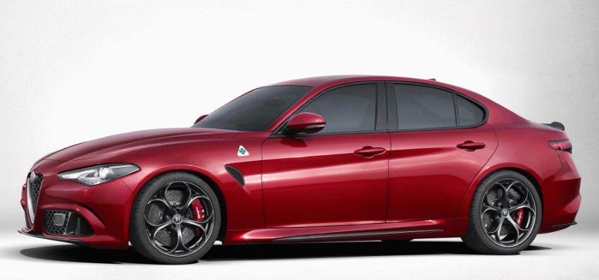 sport kary sedan alfa romeo    obzor alfa romeo giulia 1   Alfa Romeo Giulia (Альфа Ромео Джулия) 2017 2018   Alfa Romeo Giulia