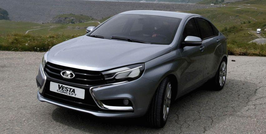 koncept avto  | obzor sedana lada vesta 1 | Лада Веста (Lada Vesta) седан | Lada Vesta