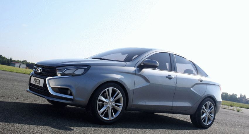 koncept avto  | obzor sedana lada vesta 2 | Лада Веста (Lada Vesta) седан | Lada Vesta