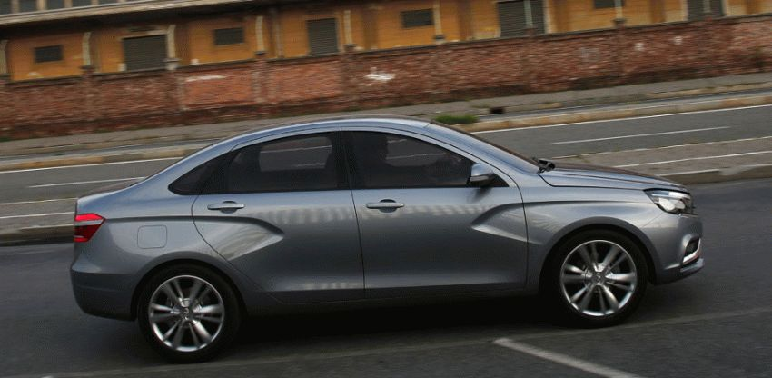 koncept avto  | obzor sedana lada vesta 5 | Лада Веста (Lada Vesta) седан | Lada Vesta