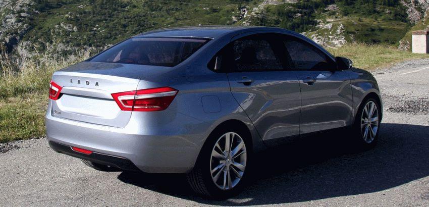 koncept avto  | obzor sedana lada vesta 6 | Лада Веста (Lada Vesta) седан | Lada Vesta