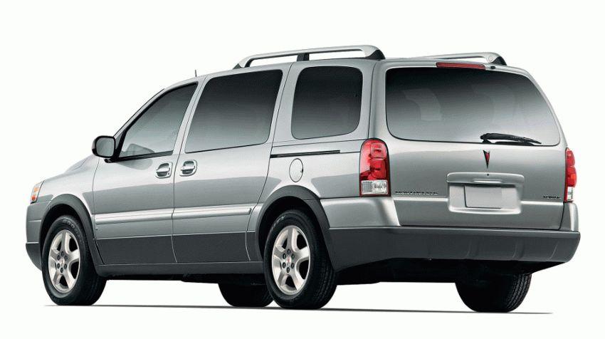 miniven katalog  | pontiac montana ii sv6 minivyen 1 | Pontiac Montana II SV6 Минивэн | Pontiac Montana