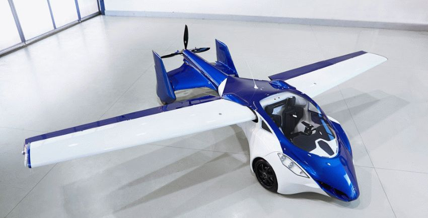 budushhee avtoproma    terrafugia tf x 1   Супер аэромобиль будущего   Аэромобиль