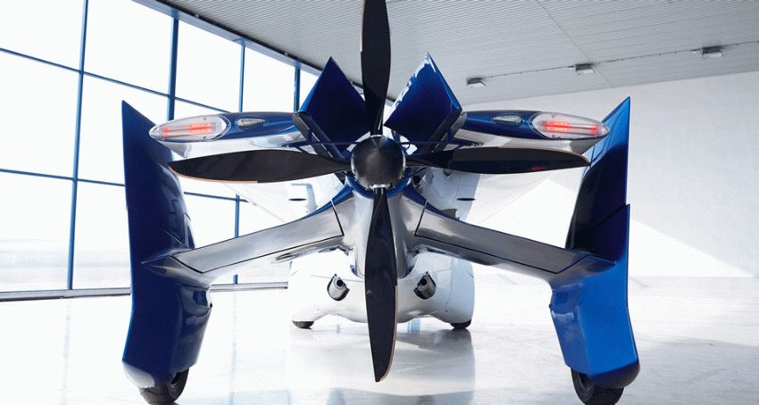 budushhee avtoproma    terrafugia tf x 3   Супер аэромобиль будущего   Аэромобиль