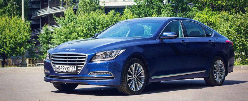 sedan  | test drayv hyundai genesis 1 | Hyundai Genesis (Хендай Генезис) | Hyundai Genesis