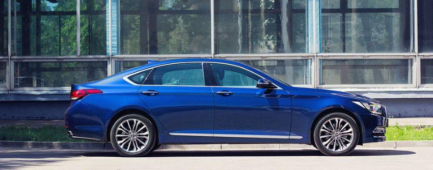 sedan  | test drayv hyundai genesis 7 | Hyundai Genesis (Хендай Генезис) | Hyundai Genesis