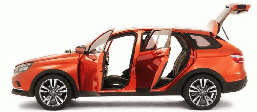 koncept avto  | ada vesta cross 1 | Лада Веста Кросс (Lada Vesta Cross) | Лада Веста СВ Кросс