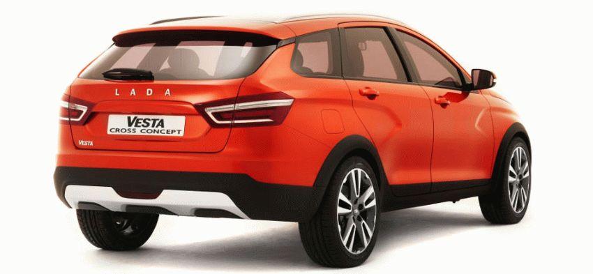 koncept avto  | ada vesta cross 2 | Лада Веста Кросс (Lada Vesta Cross) | Лада Веста СВ Кросс