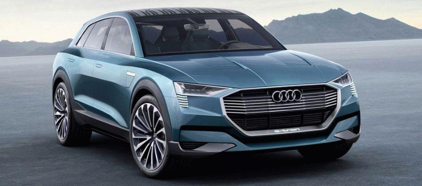 koncept avto  | audi q6 e tron 2018 1 | Audi Q6 e tron (Ауди Ку 6) 2018 | Audi Q6