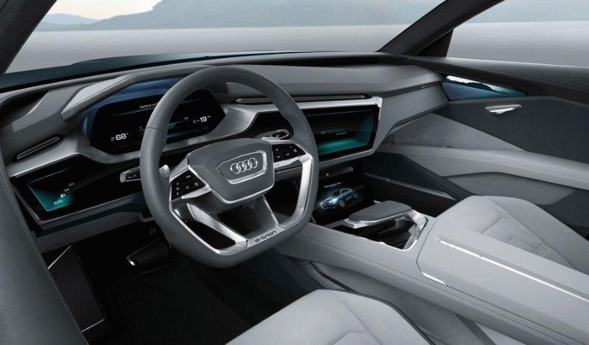 koncept avto  | audi q6 e tron 2018 2 | Audi Q6 e tron (Ауди Ку 6) 2018 | Audi Q6