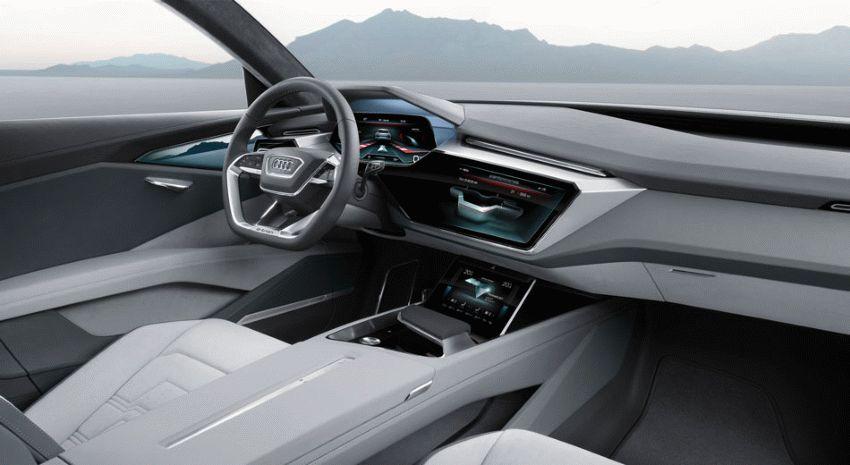koncept avto  | audi q6 e tron 2018 3 | Audi Q6 e tron (Ауди Ку 6) 2018 | Audi Q6
