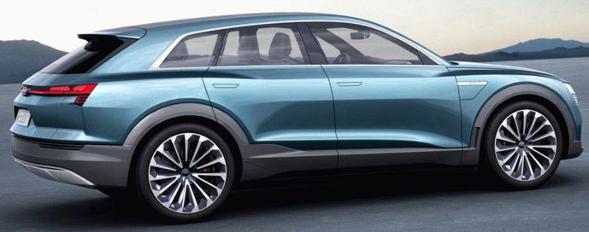 koncept avto  | audi q6 e tron 2018 5 | Audi Q6 e tron (Ауди Ку 6) 2018 | Audi Q6