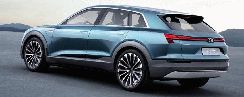 koncept avto  | audi q6 e tron 2018 6 | Audi Q6 e tron (Ауди Ку 6) 2018 | Audi Q6