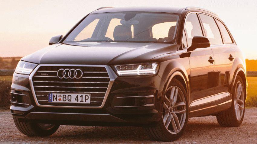 krossovery audi  | audi q7 krossover 1 | Audi Q7 (Ауди Ку7) 2017 2018 | Audi Q7