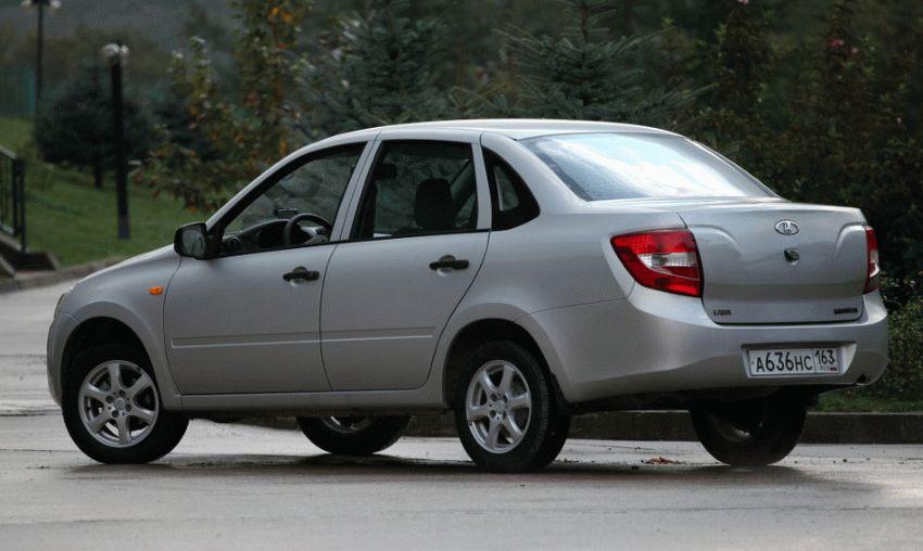 sedan renault lada  | granta i logan 2 4 | Гранта (Lada Granta) и Логан 2 (Renault Logan II) | Renault Logan II Lada Granta