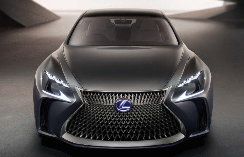 koncept avto  | lexus lf fc concept 1 | Lexus LF FC (Лексус ЛФ ФС) концепт | Lexus LF FC