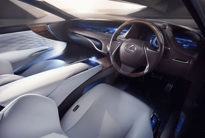 koncept avto  | lexus lf fc concept 2 | Lexus LF FC (Лексус ЛФ ФС) концепт | Lexus LF FC