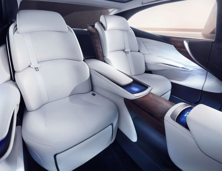koncept avto  | lexus lf fc concept 3 | Lexus LF FC (Лексус ЛФ ФС) концепт | Lexus LF FC
