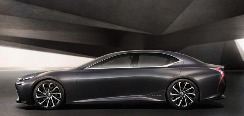 koncept avto  | lexus lf fc concept 4 | Lexus LF FC (Лексус ЛФ ФС) концепт | Lexus LF FC