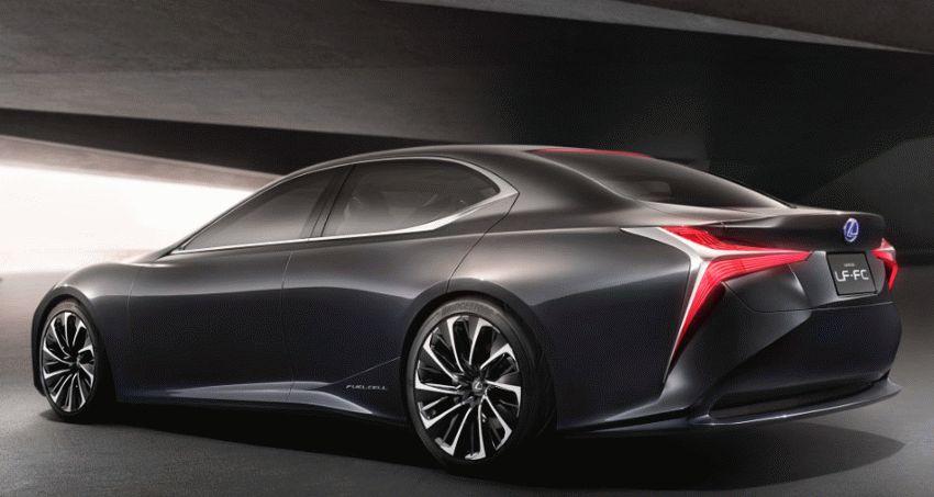 koncept avto  | lexus lf fc concept 5 | Lexus LF FC (Лексус ЛФ ФС) концепт | Lexus LF FC
