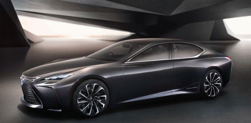 koncept avto  | lexus lf fc concept 6 | Lexus LF FC (Лексус ЛФ ФС) концепт | Lexus LF FC