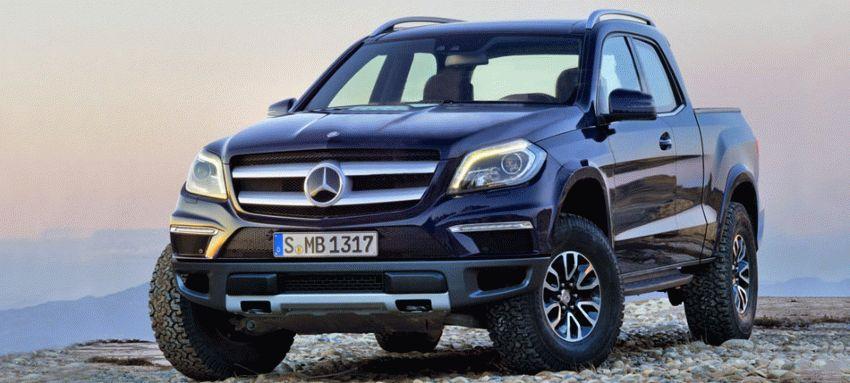 novosti  | novyy pikap ot mercedes 1 | Дебют Мерседеса Х Класса | Mercedes Benz X Class