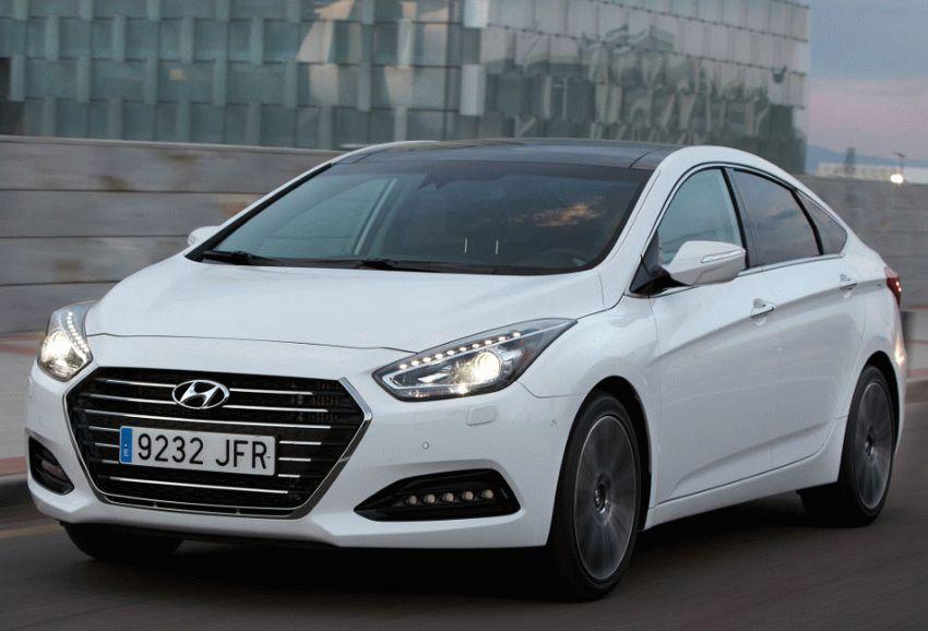 sedan hyundai  | obnovlennyy hyundai i40 2 | Hyundai i40 (Хендай ай 40) рестайлинг | Hyundai i40