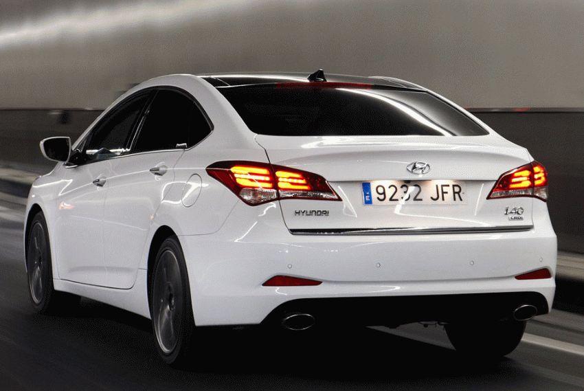 sedan hyundai  | obnovlennyy hyundai i40 5 | Hyundai i40 (Хендай ай 40) рестайлинг | Hyundai i40