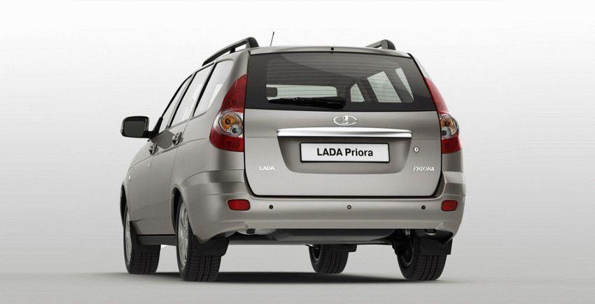 universaly lada  | obzor avtomobilya lada priora universal 3 | Лада Приора универсал (Lada Priora) | Lada Priora