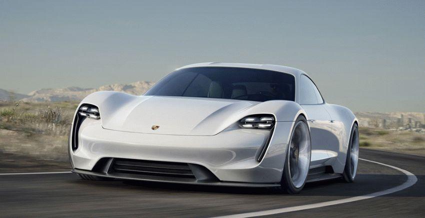 koncept avto  | porsche mission e 1 | Porsche Mission E (Порше Миссия Е) | Porsche Mission